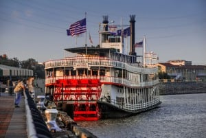 Stanwycks Photography, The Natchez Steamboat at Dusk